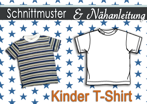 pdf.Kinder T-Shirt in der Gr.:92-128