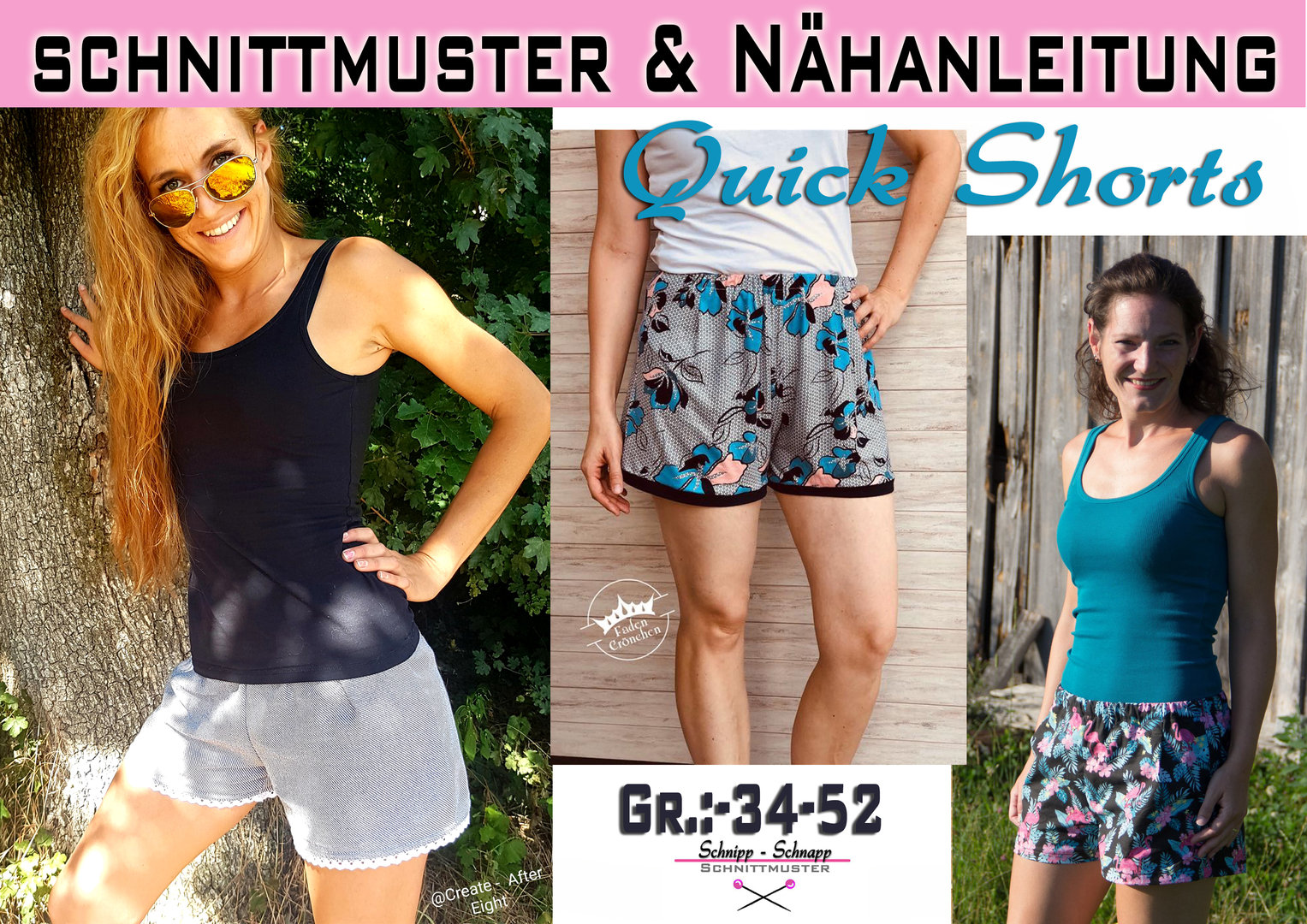 Quick Shorts Gr.: 34-52